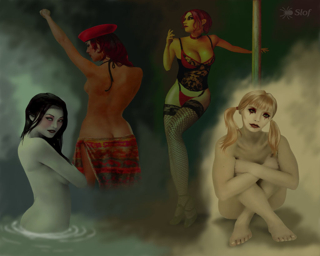 nudity vampire the masquerade bloodlines Kiki's delivery service