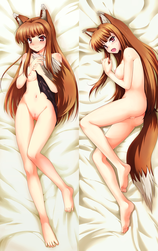 naked holo spice wolf and Resident evil 4 ashley naked
