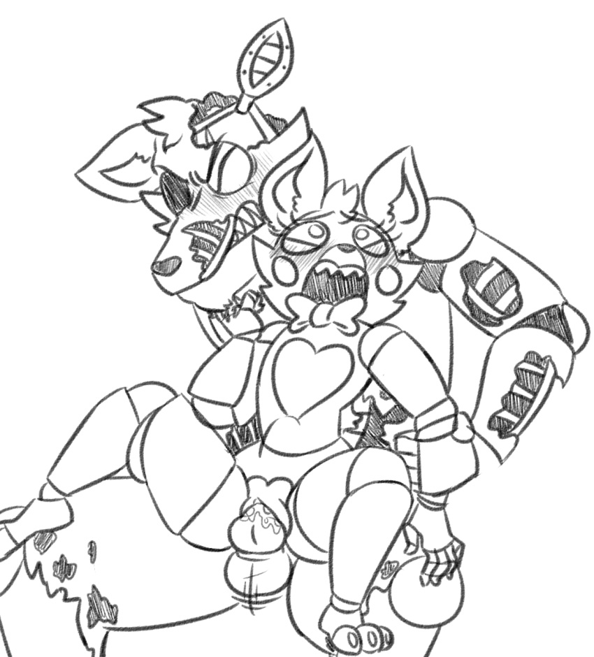 mangle porn and foxy fnaf How to train your dragon cloudjumper