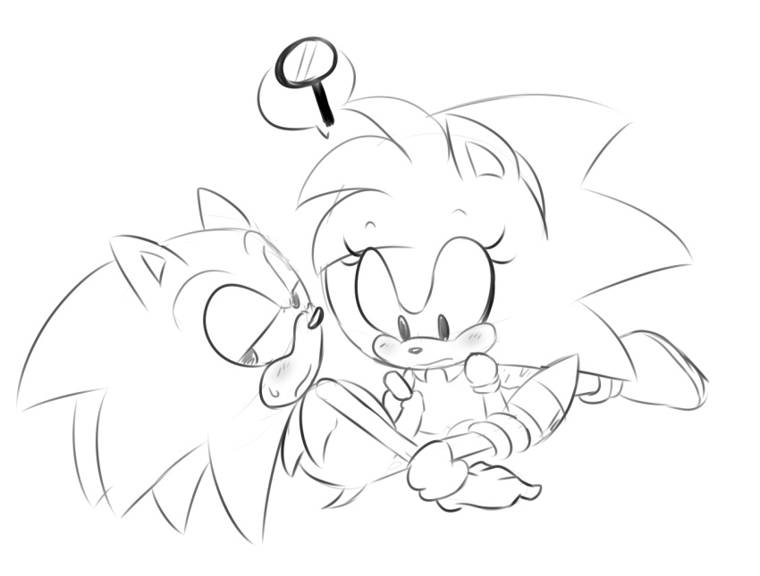 werefox and werehog tails the the sonic My little pony royal guard