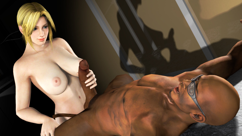 or alive xtreme nude dead 2 Johnny test in black and white