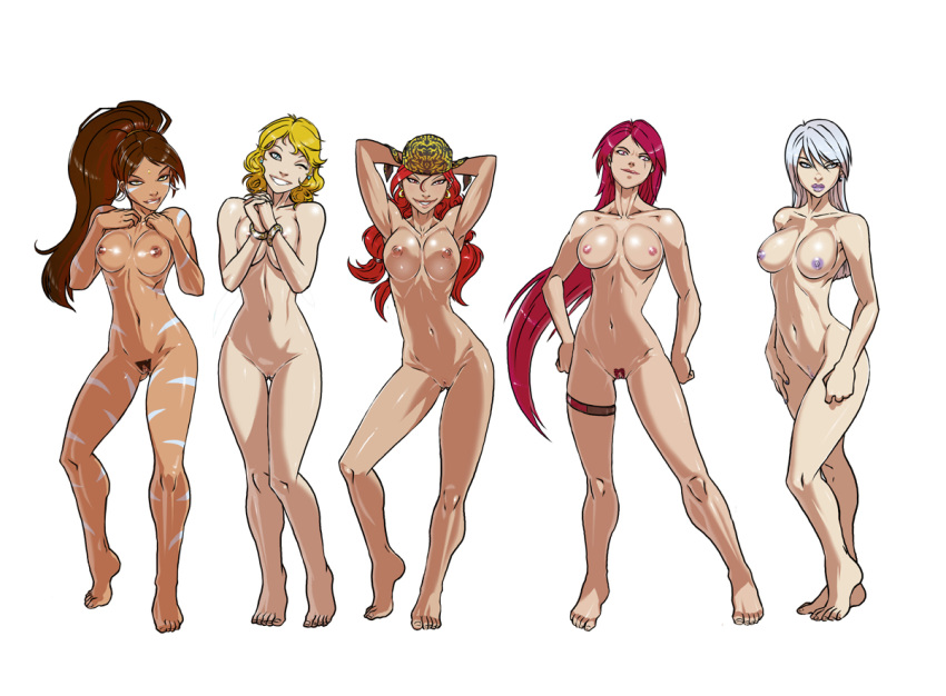 league of legends Breasts painted like easter eggs