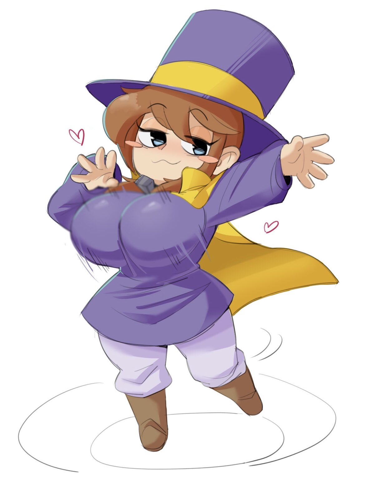 conductor hat in or grooves dj time a A hat in time mustache girl